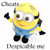 Cheats for Despicable Me