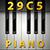 Piano 29Key C5